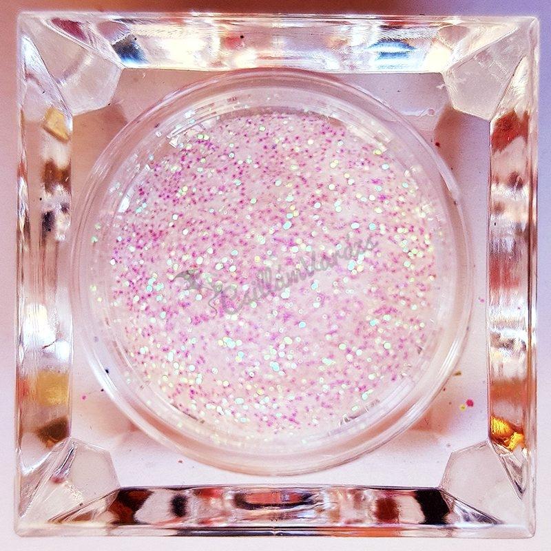 Csillámpor 013 gyöngyház fehér