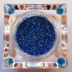 Csillámpor 024 közép kék