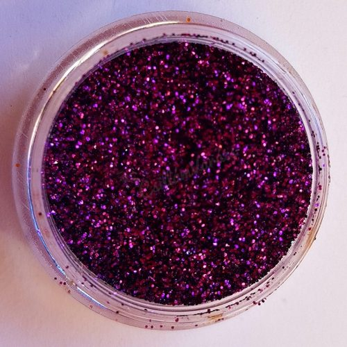 Csillámpor 025 közép lila