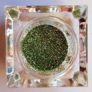 Csillámpor 039 olajzöld