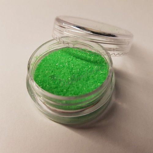 Matt neon csillámpor 082 zöld