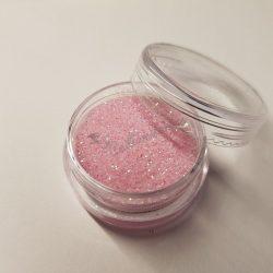 Gyögyház hatású csillámpor 112 baba rózsaszín