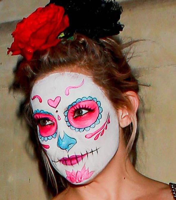 cukorkoponya arcfestés - Kate Hudson