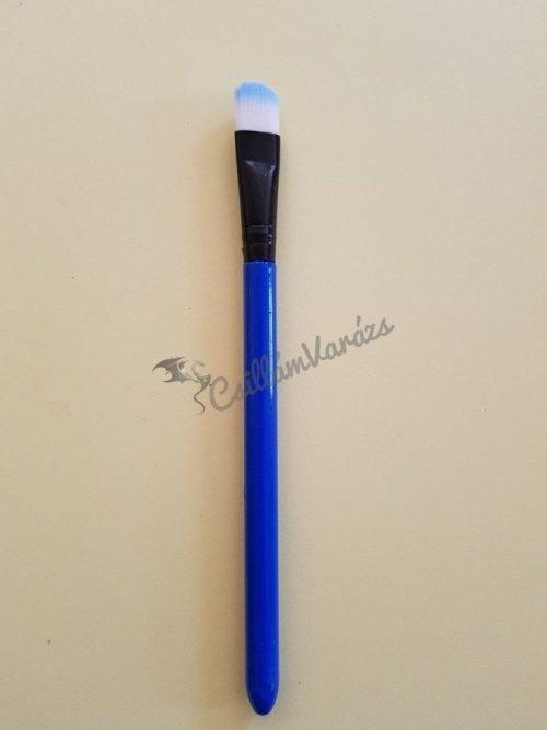 Kék nagy méretű ovális lapos ecset