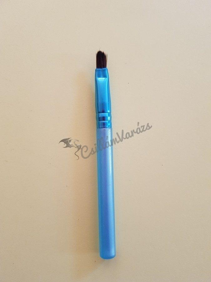 Gyöngyház világos kék egyenes ecset