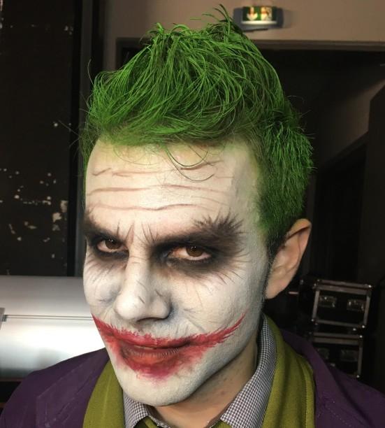 Joker arcfestés