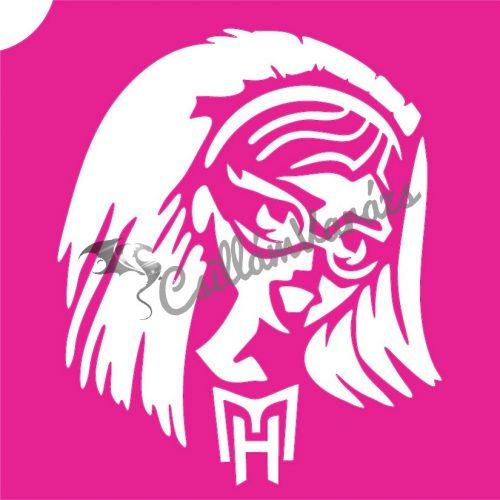 Monster High 04 csillámtetoválás sablon