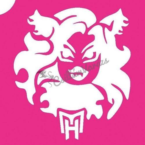 Monster High 02 csillámtetoválás sablon