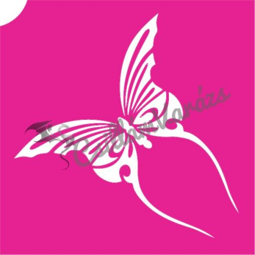 Pillangó 26 csillámtetoválás sablon