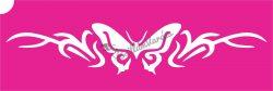Pillangó 31 csillámtetoválás sablon