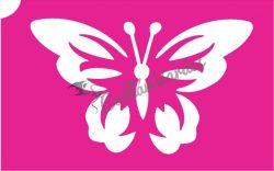 Pillangó 32 csillámtetoválás sablon