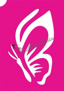 Pillangó 40 csillámtetoválás sablon