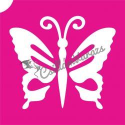 Pillangó 47 csillámtetoválás sablon