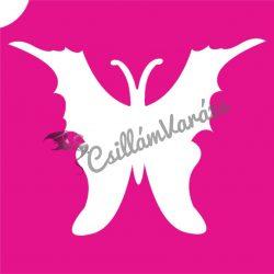 Pillangó 49 csillámtetoválás sablon