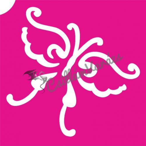 Pillangó 53 csillámtetoválás sablon