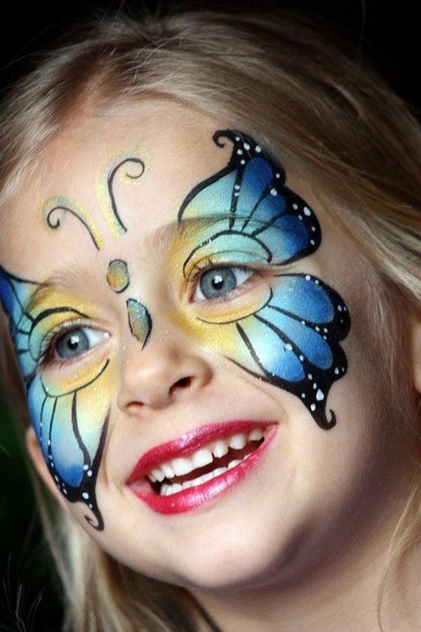 pillangó arcfestés