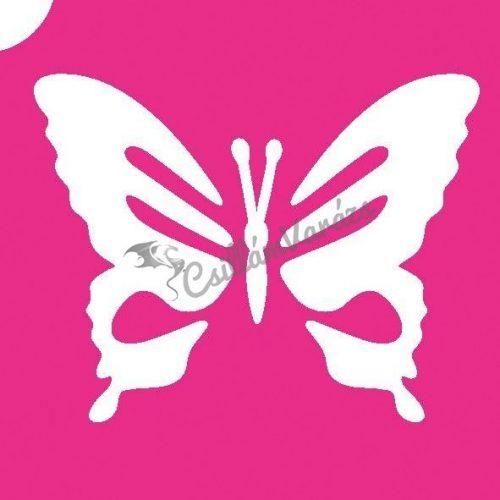 Pillangó 10 csillámtetoválás sablon