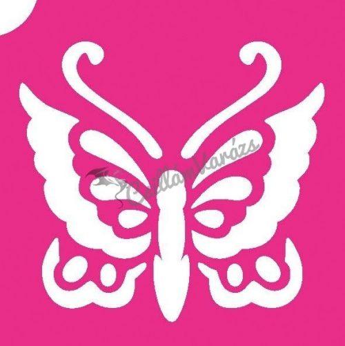 Pillangó 11 csillámtetoválás sablon