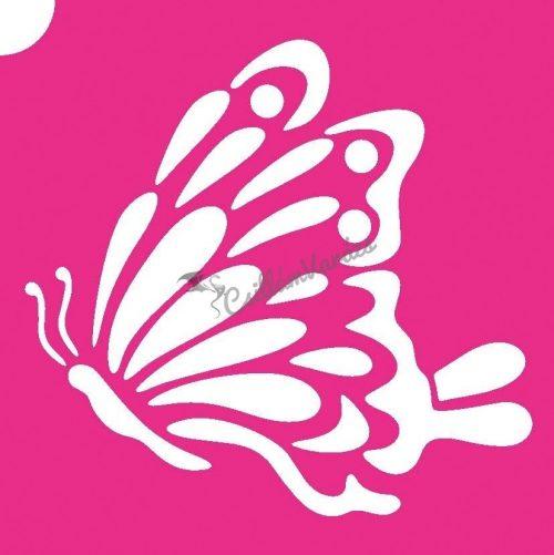 Pillangó 21 csillámtetoválás sablon
