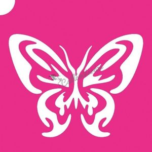 Pillangó 24 csillámtetoválás sablon
