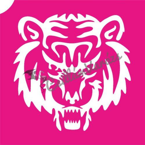 Tigris 04 csillámtetoválás sablon