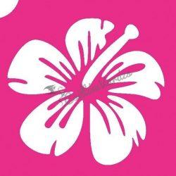 Virág 09 csillámtetoválás sablon