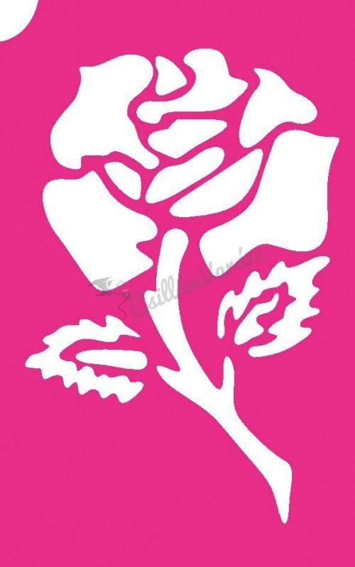 Virág 47 csillámtetoválás sablon